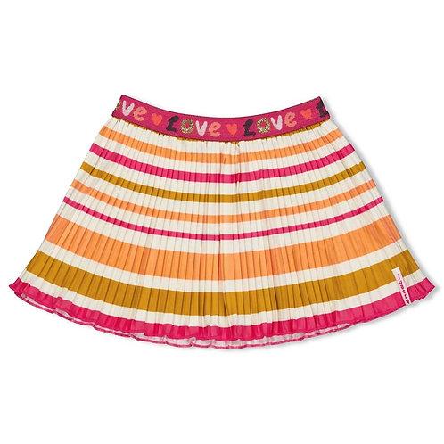 Jubel Skirt Neon Coral Love