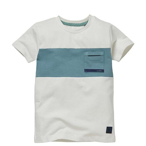 LEVV T-Shirt Neill White