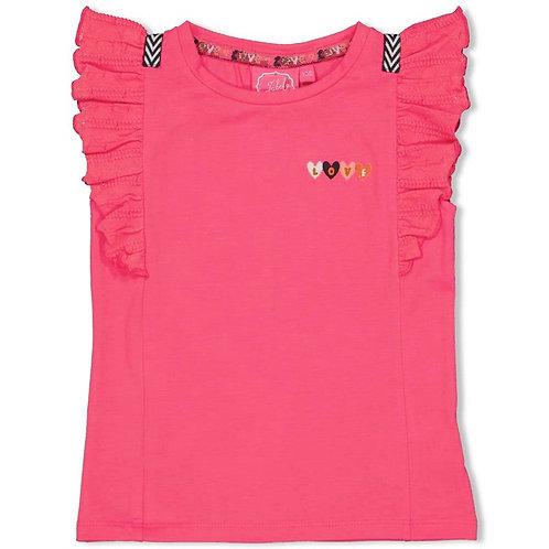 Jubel T-Shirt Fuchsia Love
