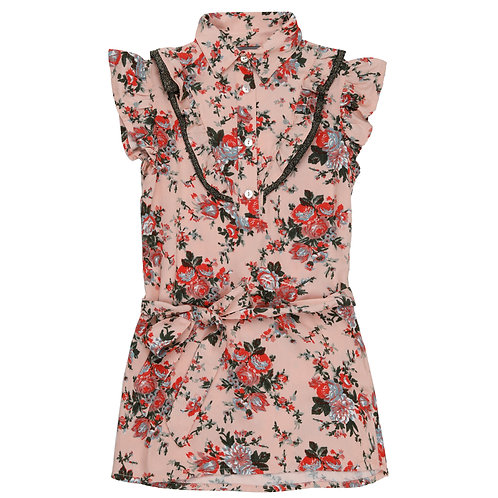Vinrose Dress Flowers