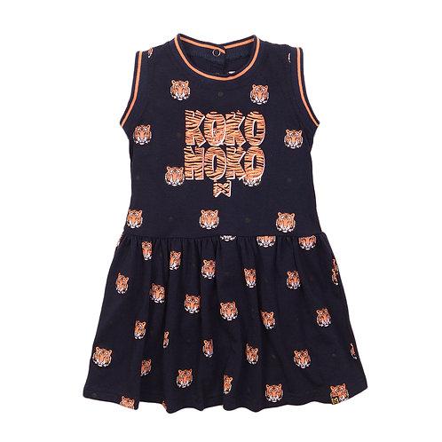Koko Noko Dress Navy Tiger