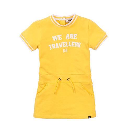 Koko Noko Dress Yellow Travellers