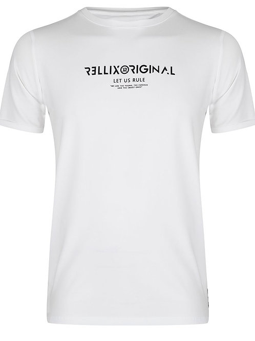 Rellix T-Shirt White Let Us Rule