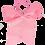 Thumbnail: Your Little Miss Haarstrik Met Elastiek Basic