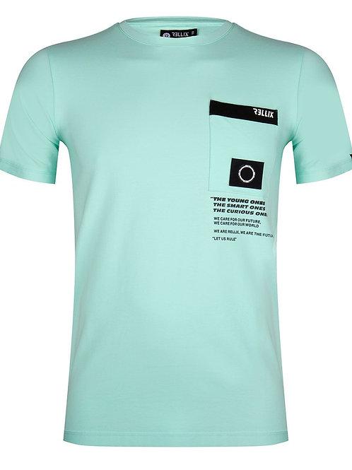 Rellix T-Shirt Pocket Soft Mint