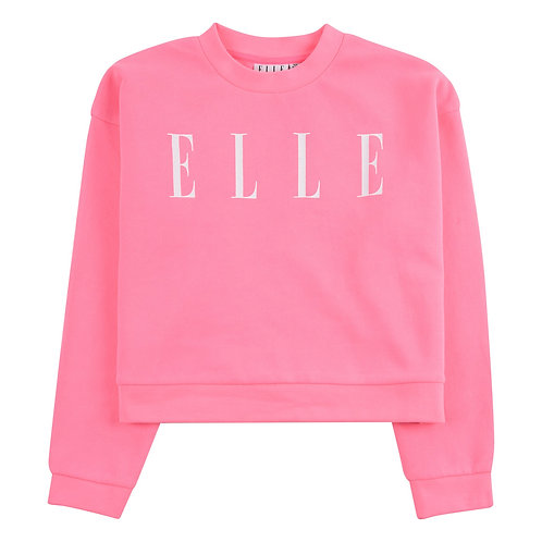 Elle Junior Sweater Neon Pink