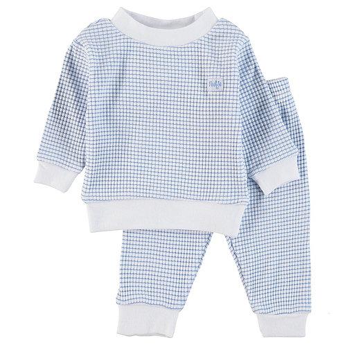 Feetje Pyjama Blauw & Wit