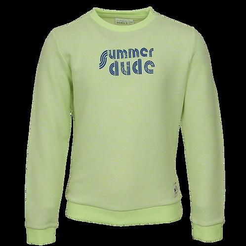 Mini Rebels Stay Sweater Summer Dude