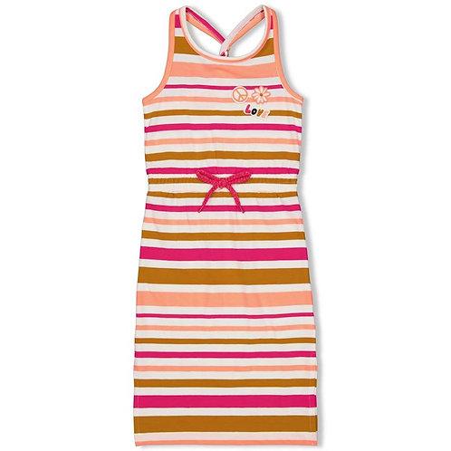 Jubel Dress Neon Coral