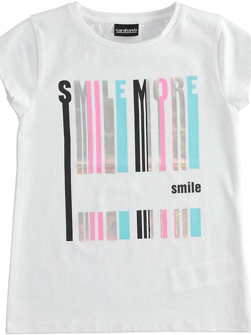 Sarabanda T-Shirt White Smile