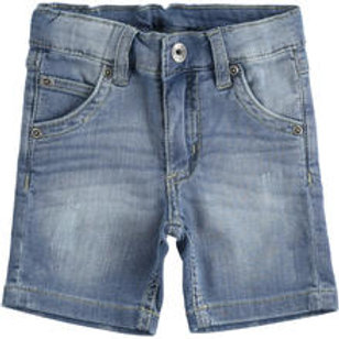 iDO Short Denim BW Label