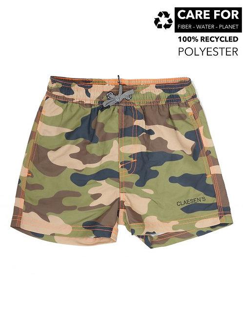 Claesens Boys Swimshort Army