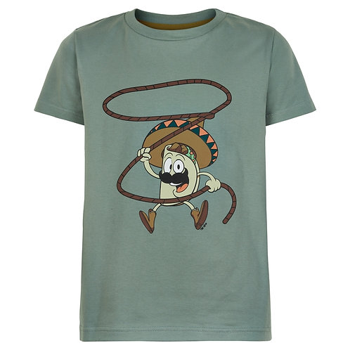 The New Taco T-Shirt Green Grey