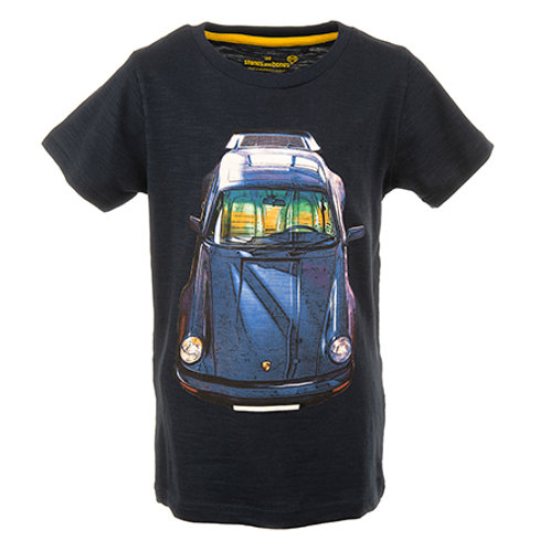 Stones and Bones T-Shirt Cars Navy