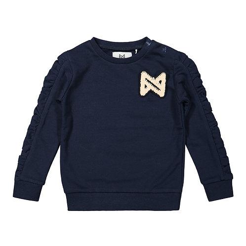 Koko Noko Sweater Navy Pink Logo