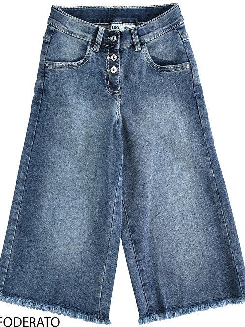 iDo Denim Wide Pants Washed