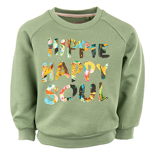 Stones and Bones Sweater Khaki Happy Soul