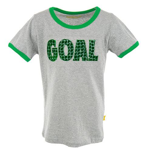 Stones and Bones T-Shirt Goal Grey