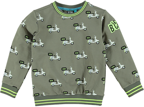 B'Chill Sweater Olive Scooters