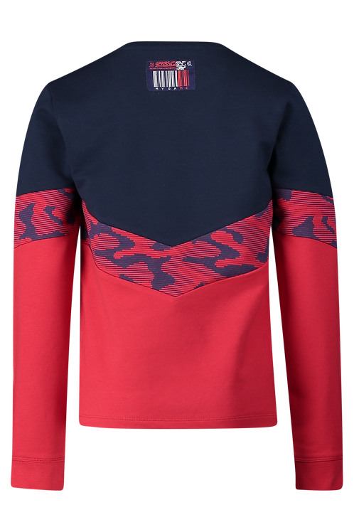 4 President Sweater Colson Red Navy