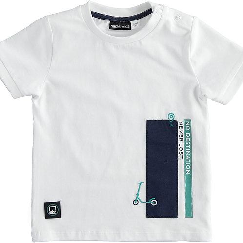 Sarabanda T-Shirt White Step