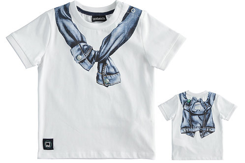 Sarabanda T-Shirt White Pullover