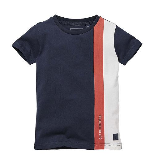 LEVV Nani T-Shirt Navy Red