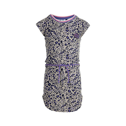 Quapi Dress Fab Leopard
