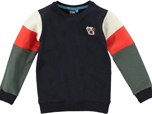 B'Chill Chip Leo Sweater Little Dog Navy