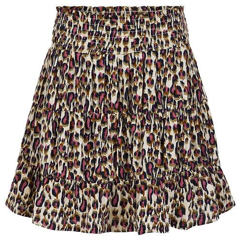 The New Trinity Skirt Leopard Rose