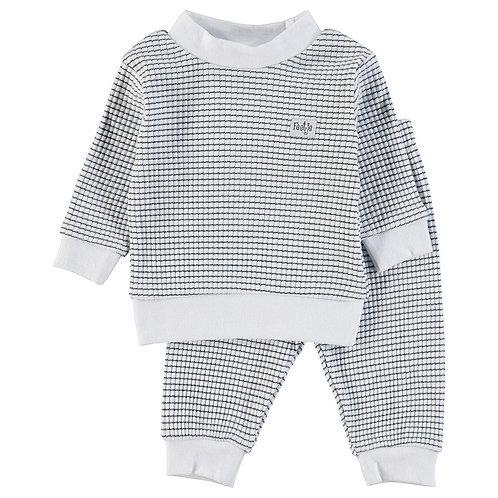 Feetje Pyjama Navy & Wit