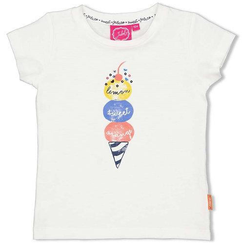 Jubel T-Shirt White Sweet Gelato