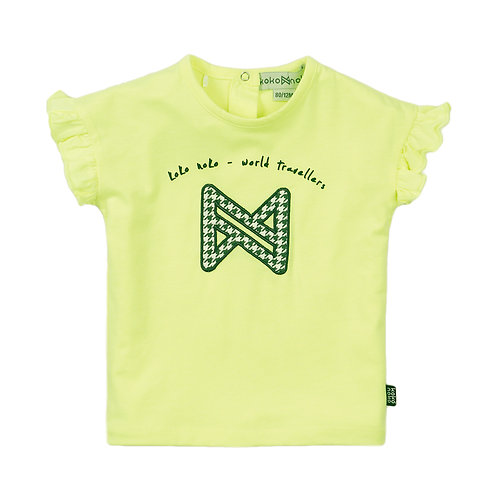 Koko Noko T-Shirt Fluo Pied de Poule