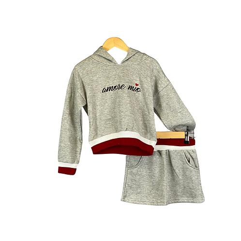 Comfy Set Grey Amore Mio
