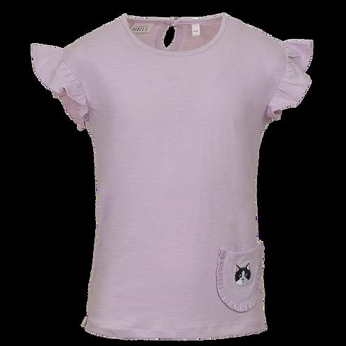 Mini Rebels T-Shirt Provonce Light Lila Cat