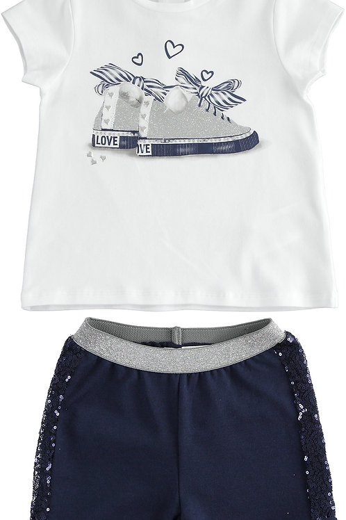 iDo Set Short and T-Shirt Sneakers