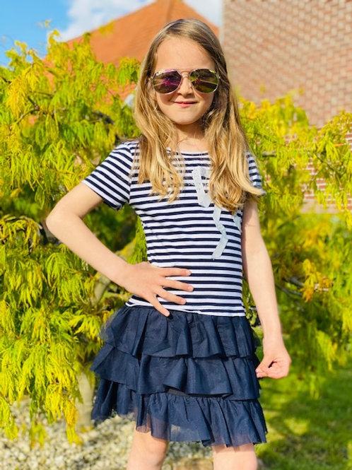 Dress Navy Stripes