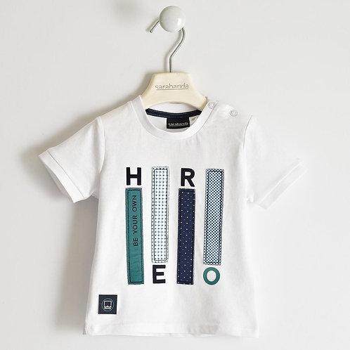 Sarabanda T-Shirt White Hero
