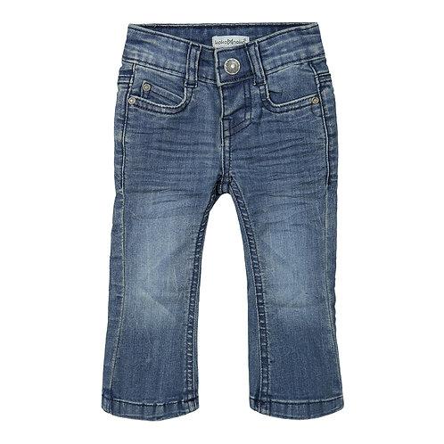 Koko Noko Wide Pants Denim Blue