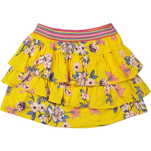 Vinrose Skirt Yellow Flowers