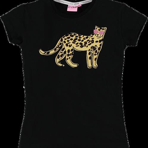 O'Chill T-Shirt Zarah Black Tiger