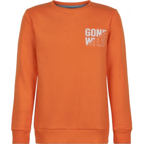 The New Sweater Toby Orange