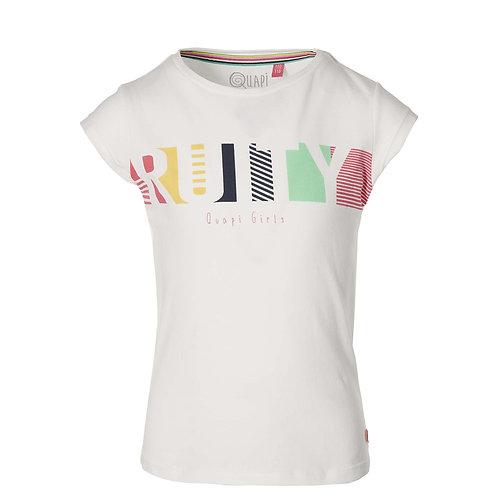 Quapi T-Shirt White Ruity