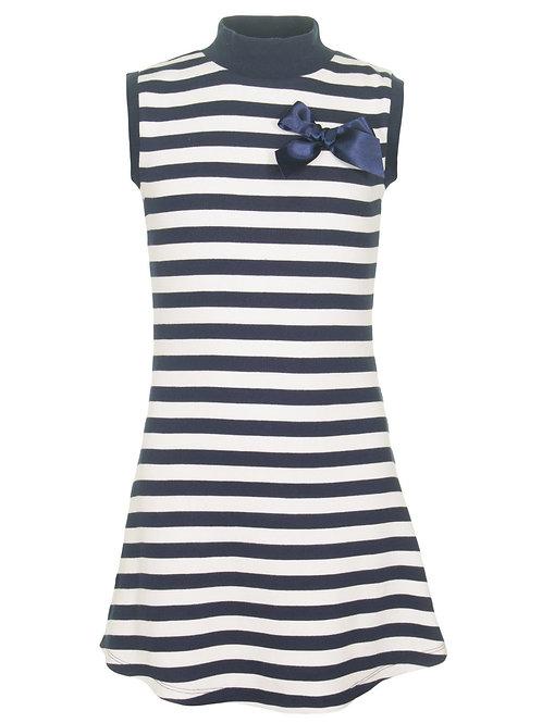 Bobbi Ravioli Dress Lara Navy