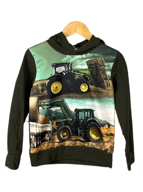 Hoodie Tractor Khaki
