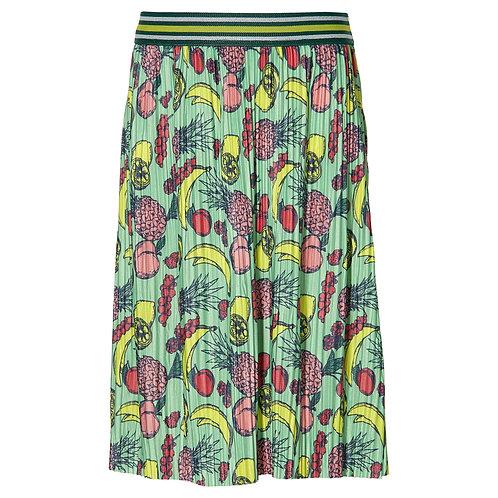 Quapi Skirt Femi Long Green Fruit