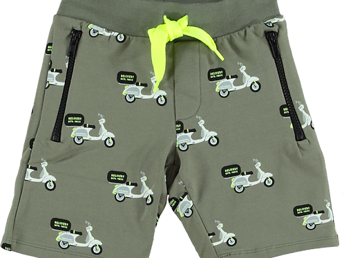 B'Chill Short Olive Scooters