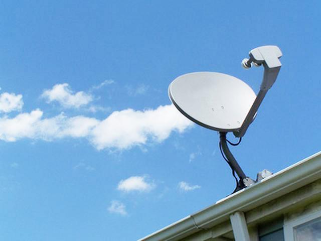 Satellite setup