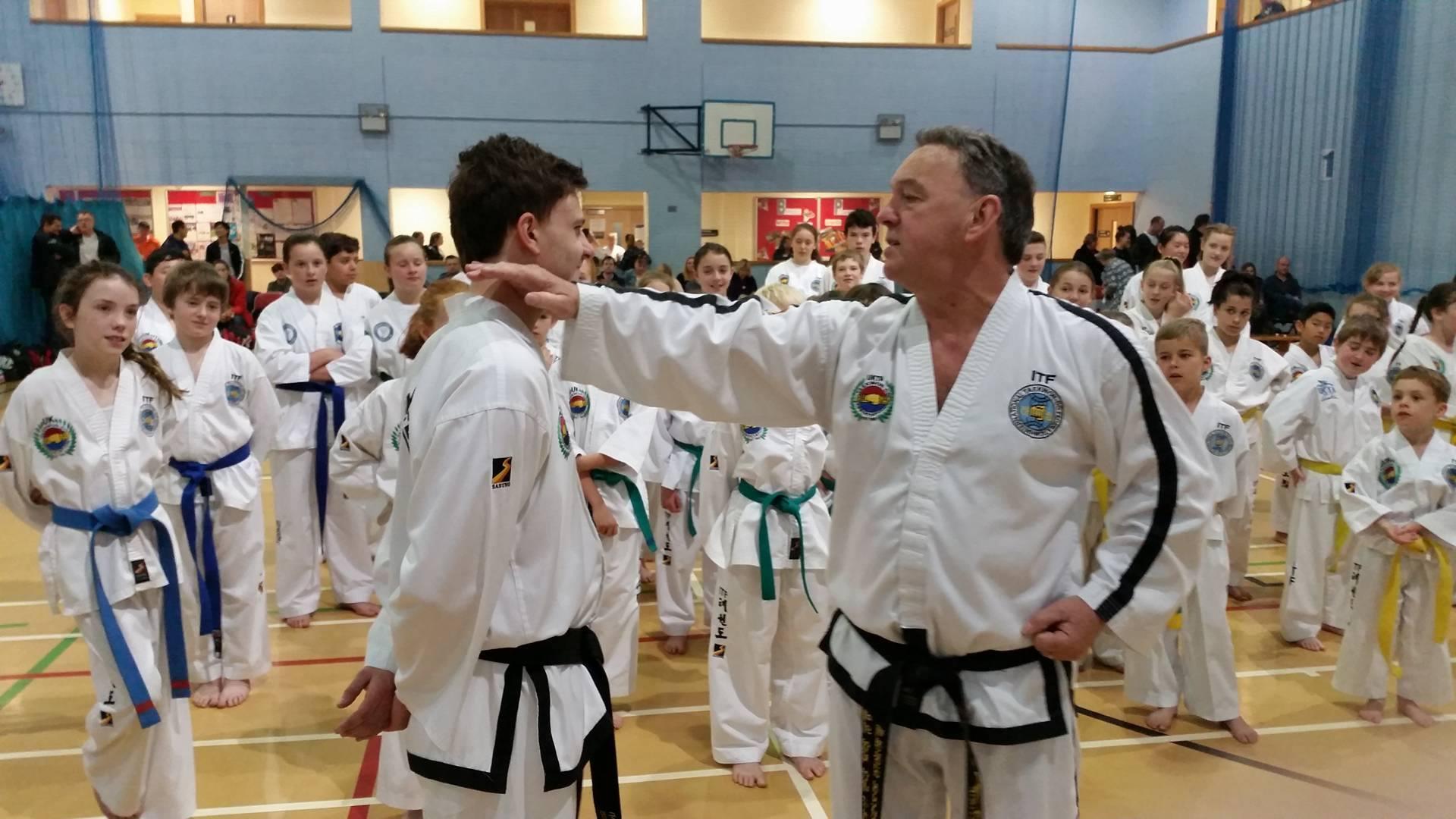 SM John Taylor Knifehand Strike