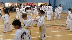 UKTA Colourbelt Junior Set Sparring